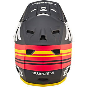 bluegrass Brave Fullface Helm matt black/orange/yellow